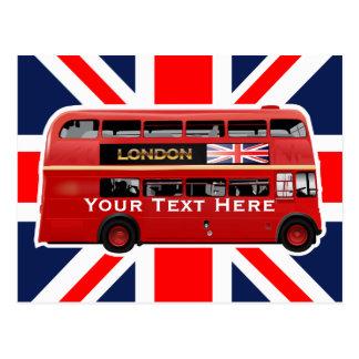De bus van Londen Briefkaart
