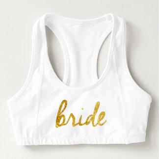 De Bustehouder van de Sporten van de bruid! Sport BH