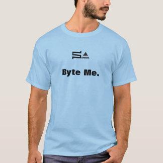 de byte van computersysadmin me t-shirt