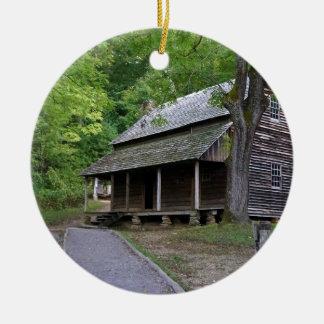 De Cabine van de Inham van Cades Rond Keramisch Ornament