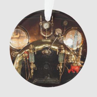 De Cabine van de Motor van de stoom Ornament