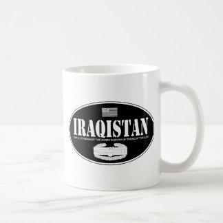De CABINE van Iraqistan Koffiemok