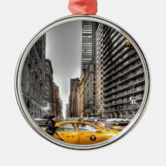 De cabines van de Stad van New York, Central Park Kerstboom Ornamenten