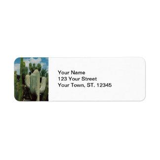 De Cactus van Arizona Etiket