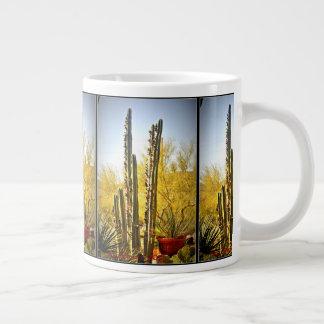 De Cactus van de Pijp van het fornuis in Mok van