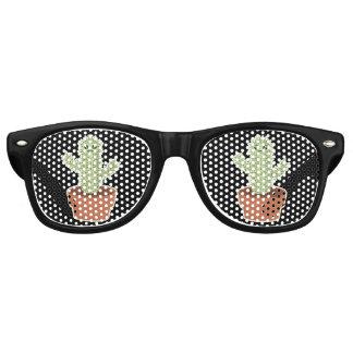 De Cactus van Kawaii Retro Zonnebril
