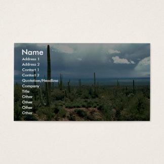 De Cactus van Saguaro Visitekaartjes