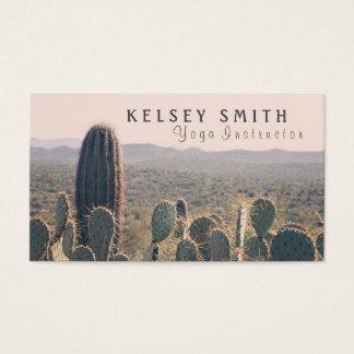 De Cactussen van Arizona - Instructeur | van de Visitekaartjes