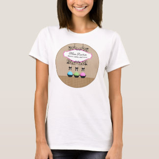 De cake knalt Van Bedrijfs desserts T-shirt