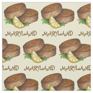 De Cake van de Krab van het M.D. van Maryland Stof
