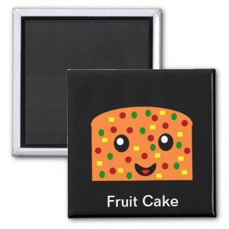De cake van het fruit magneet