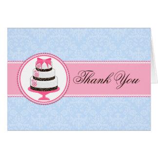 De Cake van kleermakerijen dankt u Kaarten