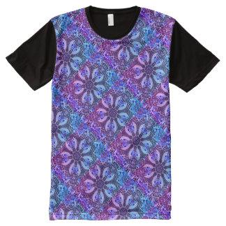 De Caleidoscoop van Poolside - Mooi Koel Mozaïek All-Over-Print T-shirt