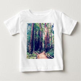 De Californische sequoia's van Californië Baby T Shirts