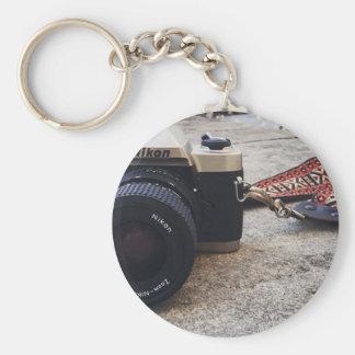 De Camera van de Film van Nikon Basic Ronde Button Sleutelhanger