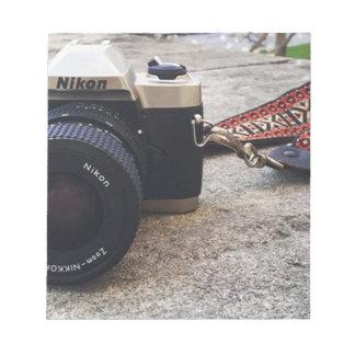 De Camera van de Film van Nikon Notitieblok