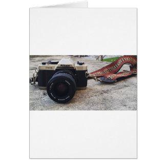 De Camera van de Film van Nikon Wenskaart