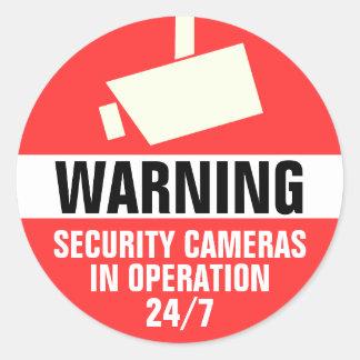 De Camera van de veiligheid om de Sticker van de