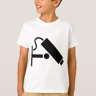 De Camera van de veiligheid T Shirt