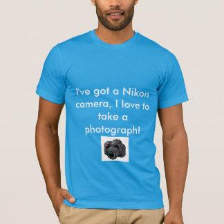 De Camera van Nikon T Shirt