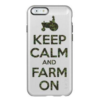 De camouflage houdt Kalm en Boerderij Incipio Feather® Shine iPhone 6 Hoesje