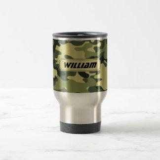 De camouflage personaliseert het reisbeker