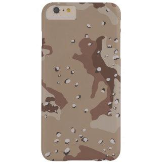 De Camouflage van de woestijn Barely There iPhone 6 Plus Hoesje
