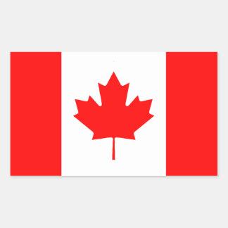 De Canadese Sticker van de Vlag