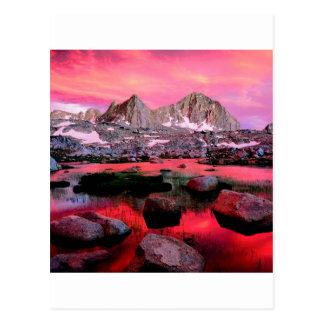 De Canion Californië van de Koningen van het Briefkaart