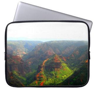 De Canion Kauai van Waimea Laptop Sleeve Hoes