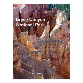 De Canion van Bryce Briefkaart