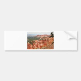 De Canion van Bryce, Utah, de V.S. 9 Bumpersticker