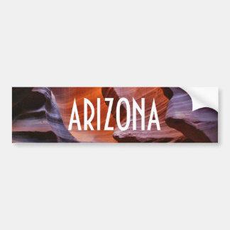 De Canions van de Groef van Arizona Bumpersticker