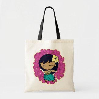 """De Canvas tassen van de Honing Aloha"" in Fuchsia"