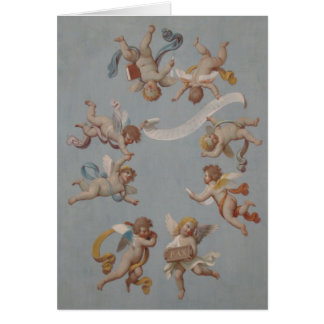 De capricieuze Cherubijnen van de Renaissance Kaart