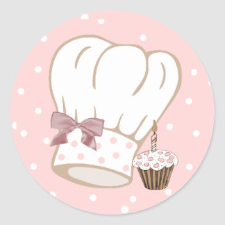 De capricieuze Sticker van het Pet van de Chef-kok