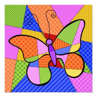 De capricieuze Uitnodiging van de Vlinder van het