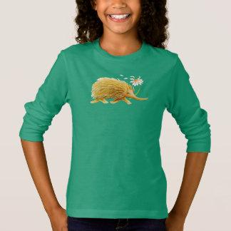 De capricieuze waterverf bos dierlijk art. van t shirt