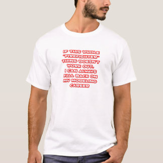 De Carrière van de Modellering van de Humor van de T Shirt