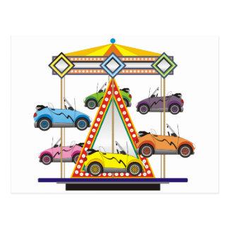 De Carrousel van de Auto van Eco Briefkaart