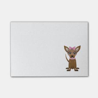 De cartoon van Chihuahua Post-it® Notes