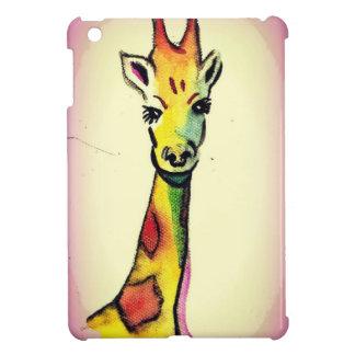 De Cartoon van de giraf iPad Mini Cover