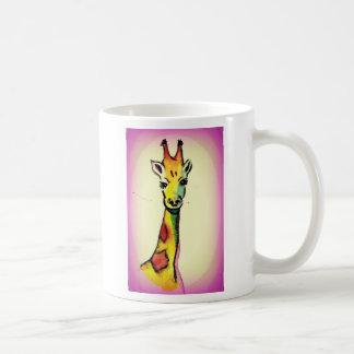 De Cartoon van de giraf Koffiemok
