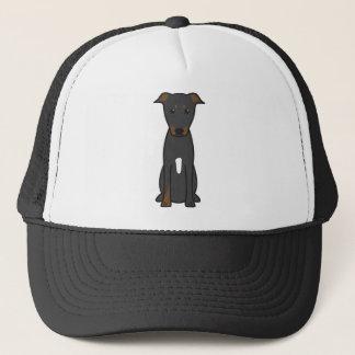 De Cartoon van de Hond van Beauceron Trucker Pet