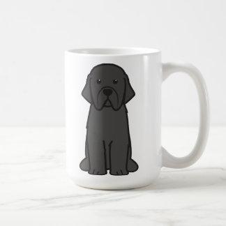 De Cartoon van de Hond van Newfoundland Koffiemok