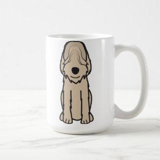 De Cartoon van de Hond van Otterhound Koffiemok