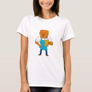De Cartoon van de Mascotte van de Mok van de T Shirt