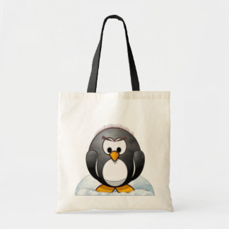 De Cartoon van de Pinguïn van Icey Draagtas