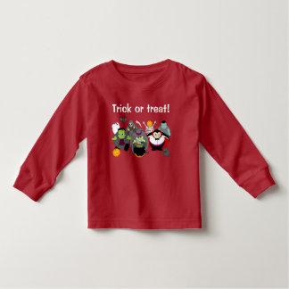 De cartoon van de pret van een groep de monsters kinder shirts