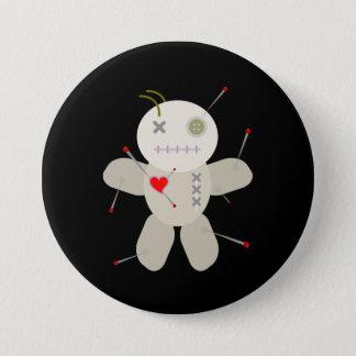 De Cartoon van de Valentijnsdag van Doll van het Ronde Button 7,6 Cm